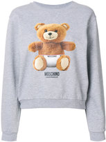 Moschino teddy bear printed sweatshirt