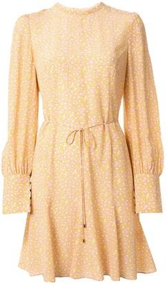 Rebecca Vallance Rosette long sleeved mini dress