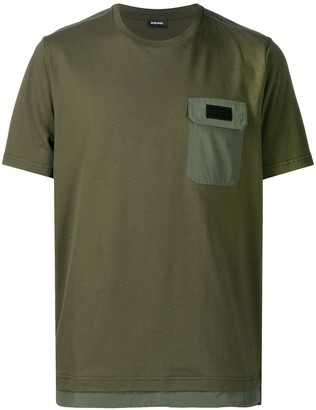 Diesel patch pocket T-shirt