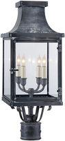 Visual Comfort & Co. Bedford Outdoor Post Lantern, Zinc