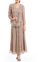 Soulmates Soutache Three Piece Embroidered Lace Skirt Set