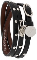 Alexander McQueen studded multi-wrap bracelet