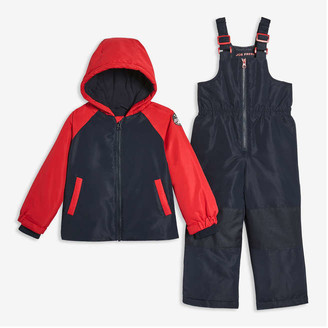 Joe Fresh Toddler Boys' PrimaLoft Snow Suit, Dark Red (Size 4)