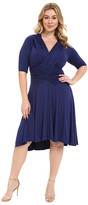 Kiyonna Refined Ruched Dress