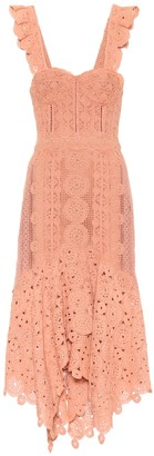 Jonathan Simkhai Crochet cotton midi dress