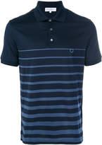 Salvatore Ferragamo Gancio striped polo shirt