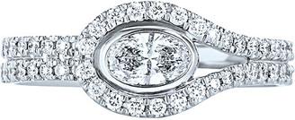 Kwiat Silhouette 18K 0.69 Ct. Tw. Diamond Ring