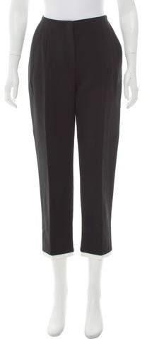 Alexander McQueen Mid-Rise Straight-Leg Pants w/ Tags