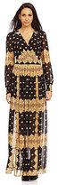 Tribal Chiffon Maxi Dress