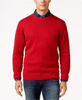Weatherproof Men's Big and Tall Pattern Sweater, Classic Fit