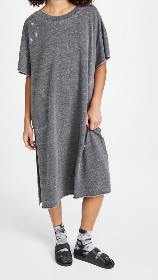 Free People Cozy Girl Maxi Tee Dress