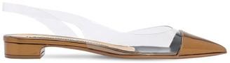 Alexandre Vauthier 20mm Plexi & Patent Leather Flats