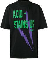 Haider Ackermann 'Acid Stains' T-shirt - unisex - Cotton - XS