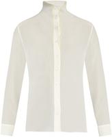 Acne Studios Sheal high-neck blouse
