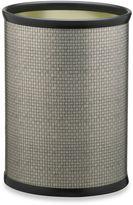 Kraftware KraftwareTM Cobblestone Wastebasket in Metal Slate
