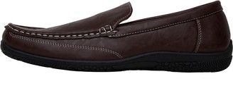 Mad Wax Mens Driving Moccasin Shoes Brown