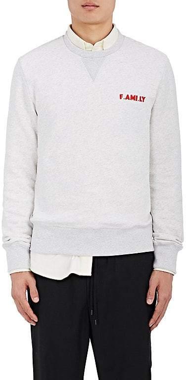 "Ami Alexandre Mattiussi Men's ""F.AMI. LY"" Cotton Fleece Sweatshirt"
