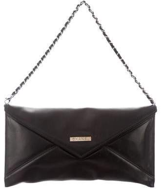 62ce2cca56a9 Envelope Clutch With Chain Strap - ShopStyle