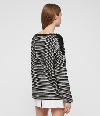 AllSaints Keya Stripe Sweater