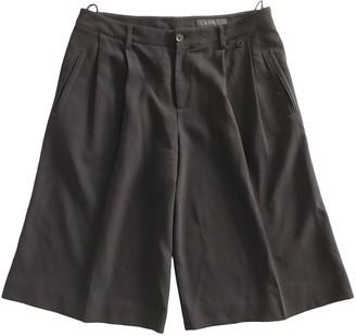 Gucci Black Wool Shorts