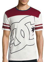 DC Co. Short-Sleeve Fade Out Block Knit T-Shirt