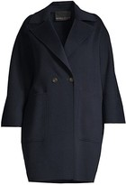 Thumbnail for your product : Marina Rinaldi, Plus Size Tazzina Double Wool Oversized Coat