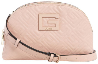 GUESS QG773869RWO Janay Zip Around Crossbody Bag