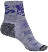 Merrell Crest Running Socks - Wool Blend, Quarter Crew (For Women)