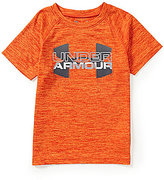 Under Armour Baby Boys 12-24 Months Big Logo Hybrid Twist Short-Sleeve Tee