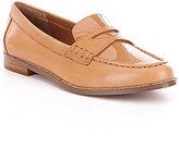 Lauren Ralph Lauren Barrett Leather Slip-On Loafers