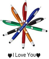"SyPen TM Greeting ""I LOVE YOU"" Stylus Ballpoint Pens 5 Pack For Any Touch Screen Device, iPhone, Galaxy, HP, iPad by SyPEN TM"