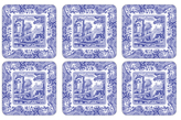 Spode Blue Italian Coasters (Set of 6)