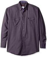 Wrangler Men's George Strait Troubadour Two Pocket Long Sleeve Woven Shirt