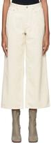 Thumbnail for your product : Won Hundred Off-White Corduroy Kiri Trousers
