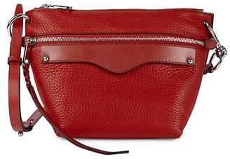Rebecca Minkoff Mini Hayden Leather Crossbody Bag