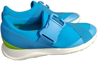 Christopher Kane Blue Polyester Trainers