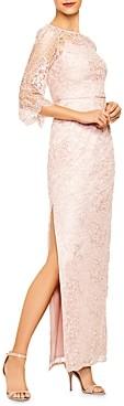 Aidan Mattox Lace Column Gown