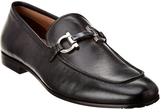 Salvatore Ferragamo Classic Gancini Leather Loafer