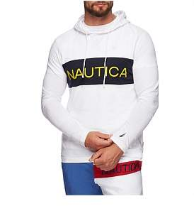 Nautica Blocked Beach To Street Hoodie