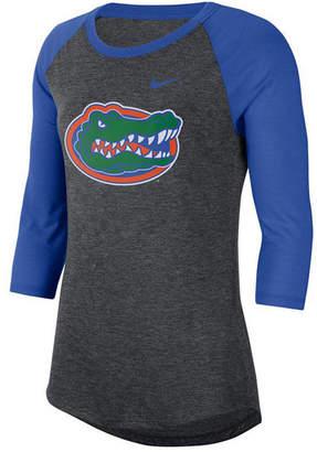 Nike Women Florida Gators Logo Raglan T-Shirt
