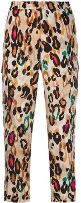 Liu Jo Leopard Print Trousers