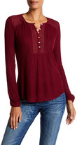 Lucky Brand Drop Needle Knit Tee