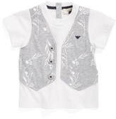 Armani Junior Infant Boy's Faux Vest T-Shirt