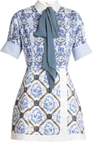 Mary Katrantzou Hayden toile de Jouy-print poplin dress