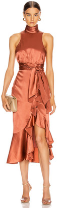 Cinq à Sept Winona Dress in Rosewood | FWRD