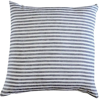 Modernplum Madrid Stripe Linen Throw Pillow