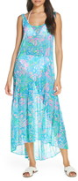Lilly Pulitzer R) Camellia Cover-Up Maxi Dress