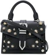Versus studded mini buckle Iconic top handle bag