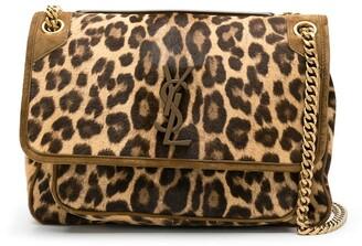 Saint Laurent Niki leopard shoulder bag