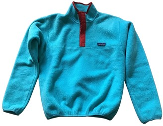Patagonia Turquoise Polyester Knitwear